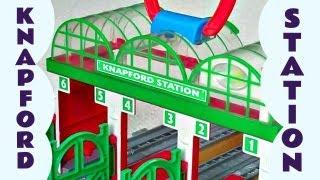 Take Along Knapford Station Thomas The Train Mail Take N Play Kids Toy Thomas The Tank Train Set