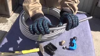 Трубопровод для солнечного коллектора. ЧАСТЬ 5