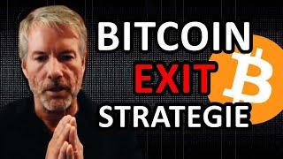 MICHAEL SAYLOR: SEINE EXIT STRATEGIE FÜR BITCOIN (Krypto News 2021)