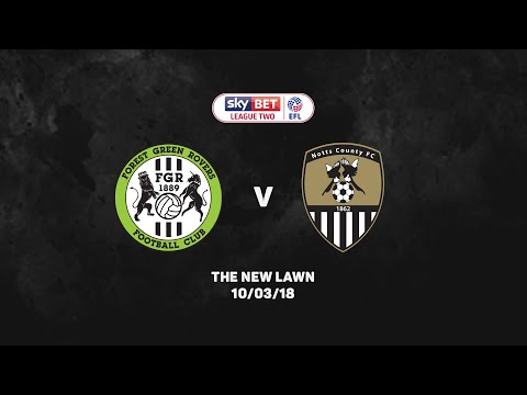 HIGHLIGHTS 17-18: Forest Green Rovers v Notts County