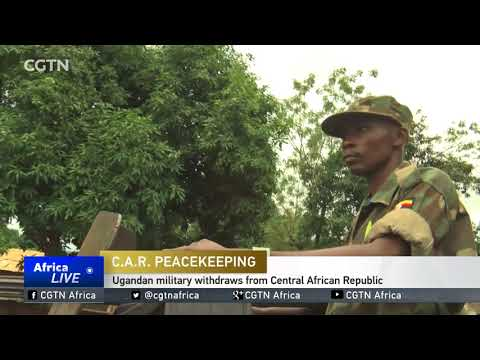 Ugandan military withdraws from Central African Republic