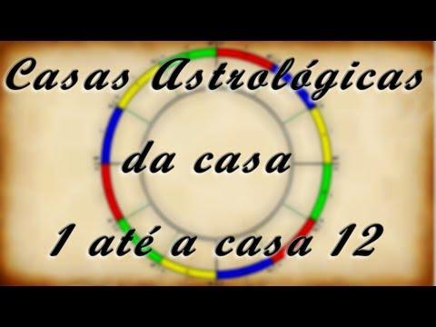 CASAS ASTROLÓGICAS | TODAS as CASAS de 1 até a 12 | Com IMAGENS - Encontros Astrológicos