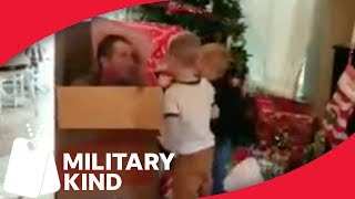 Daddy-size present mysteriously appears under tree