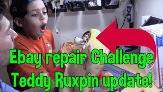 Ebay Repair challenge Week 2 update on Teddy Ruxpin Fix