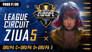 [RO] Free Fire Europe Pro League Season 2 - League Circuit Day 5