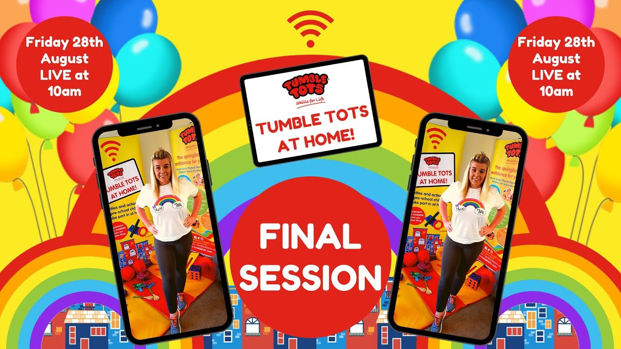 Tumble Tots at Home - VIRTUAL SPORTS DAY - YouTube