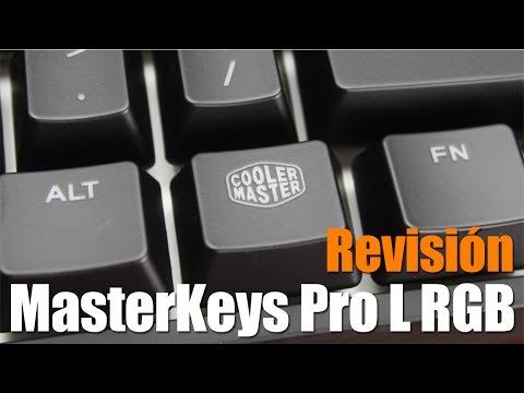 Cooler Master MasterKeys Pro L RGB Un teclado para la élite Gamer.