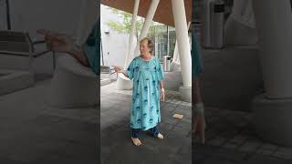 Dad Dancing at the hospital 2018