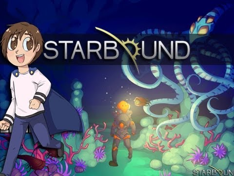 Starbound W/ BlueSandvich & Peckett | OUT OF FUEL! | Part 1