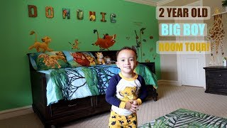 DOMONIC'S NEW BIG BOY ROOM TOUR!!!!!!