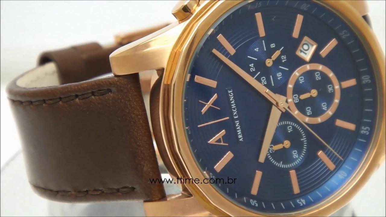 60b868c80f7 Relógio Armani Exchange AX2508 0AN - YouTube