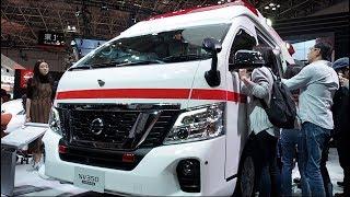 Nissan Nv350 Caravan Ambulance 2017 In detail review walkaround Interior Exterior