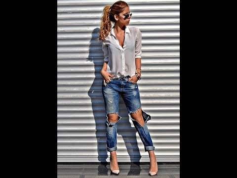[VIDEO] - casual ripped jeans outfits 1