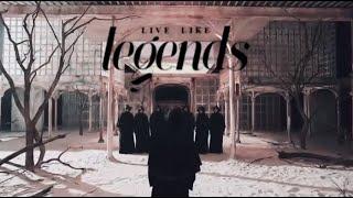 EXO X BTS LIVE LIKE LEGENDS