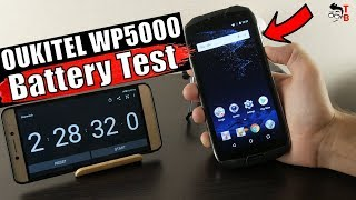 Oukitel WP5000 - Battery Drain Test & Charging Time