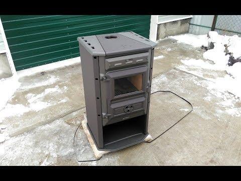 Magic Stove печь-камин, подробный обзор.
