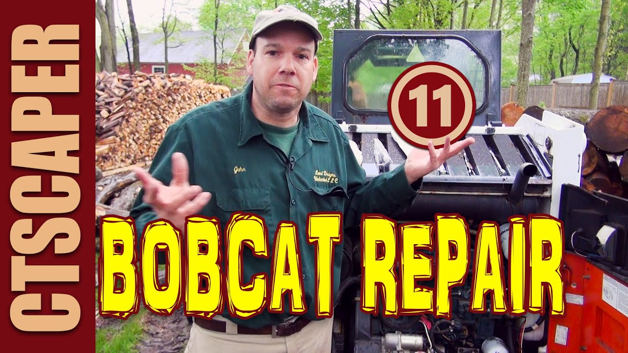 Bobcat Hydraulic Repair 11