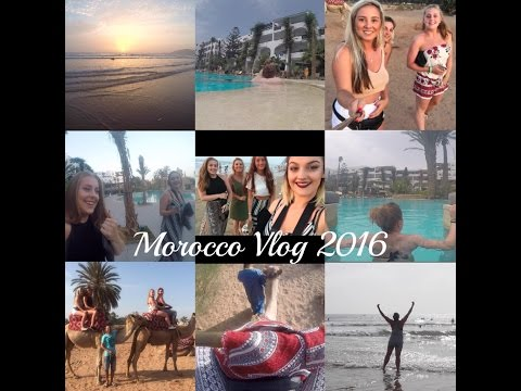 Morocco Vlog 2016! ⎮ Ft EllieMarieMusic
