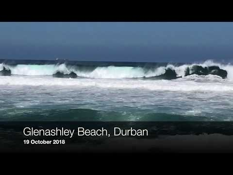 Big swells off Durban