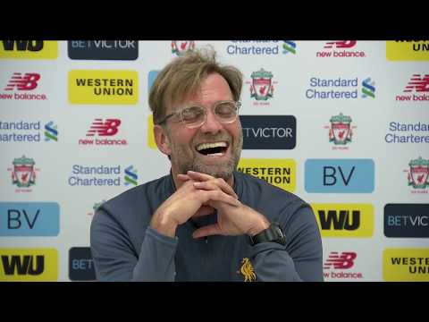 Jürgen Klopp's pre-Arsenal press conference