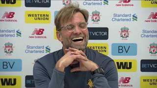 Jürgen Klopp's pre-Arsenal press conference