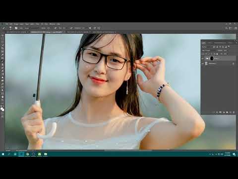 Hướng Dẩn Tự Tạo Action Làm Mịn Da Trong Photoshop