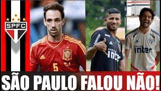 NOTÍCIAS DO SÃO PAULO FC; JUANFRAN NÃO INTERESSA; PATO; ROJAS; BIROBIRO; PABLO; LIZIERO; RECESSO