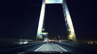 (HD) Night drive in Tokyo 04 -夜の首都高 横羽線→狩場線→湾岸線-