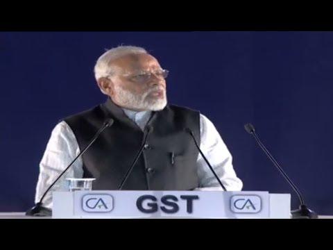 PM Narendra Modi at Charted Accountant Day at IGI Stadium, Delhi