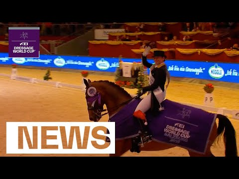 Isabell Werth & Co gave us a thrilling morning of Sport in Salzburg | News | FEI Dressage World Cup™