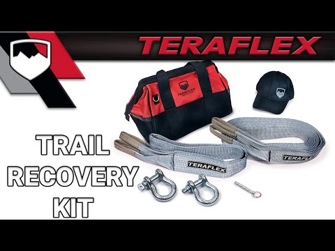 Teraflex Teraflex Trail Recovery Kit Youtube