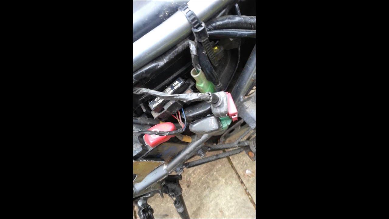 Honda XR 125 Starter Problem Solenoid YouTube