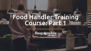 food handler training course part 1