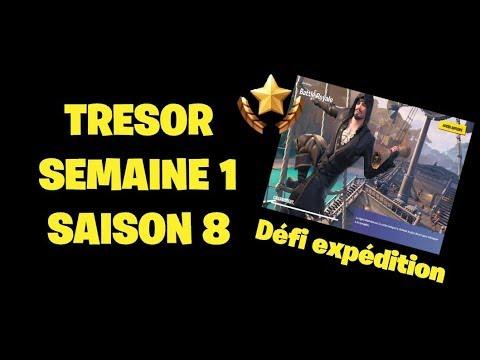 dÉfis-expÉdition-trÉsor-cachÉ-dans-l'Écran-de-chargement-fortnite-saison-8-semaine-1