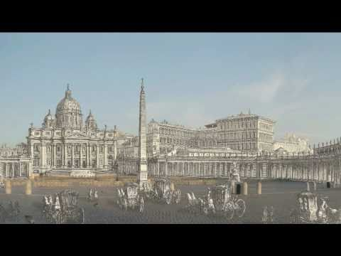 Giuseppe Vasi's Rome - 8/8 Yesterday and Today HD