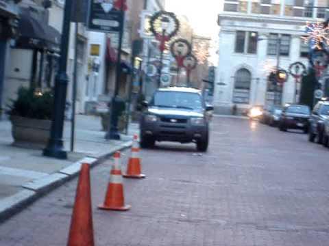 Philadelphia-Walk from 8th & Market to Jeweler's Row.