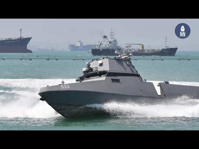 Singapore's New Maritime Security Unmanned Surface Vessels
