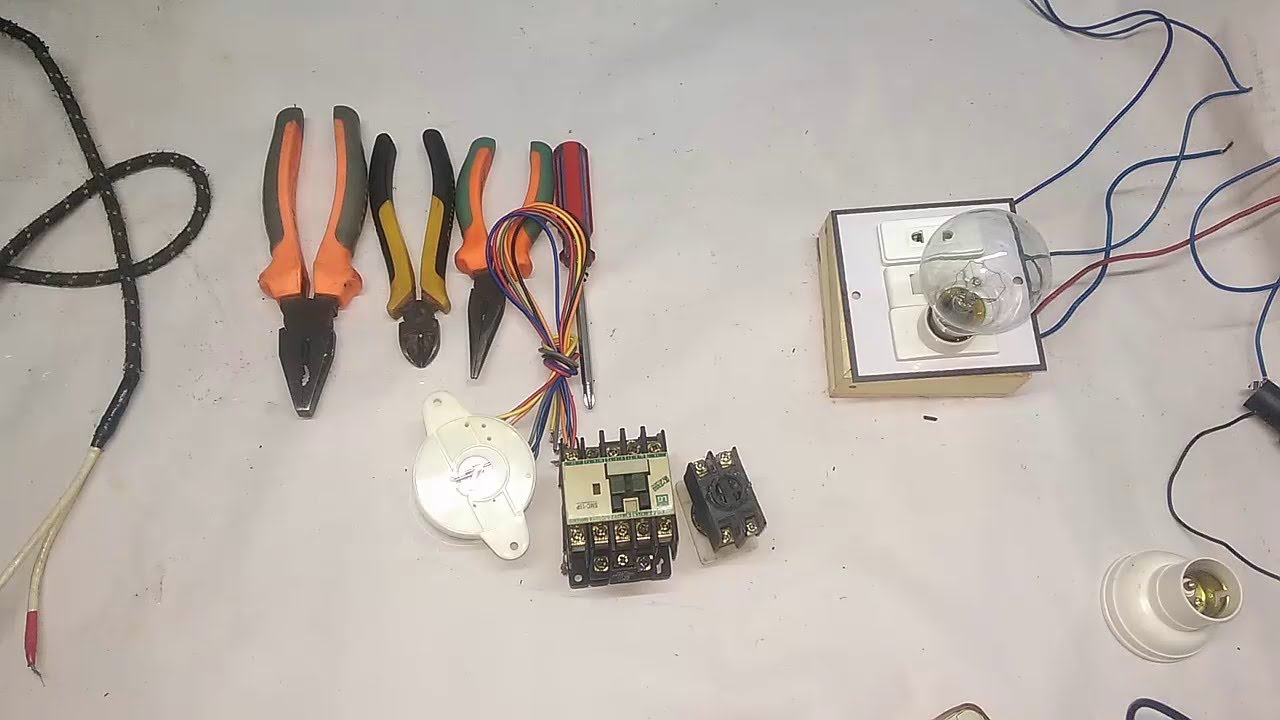 How To Check Magnetic Contactor Use Youtube 1 Pole Relay Wiring