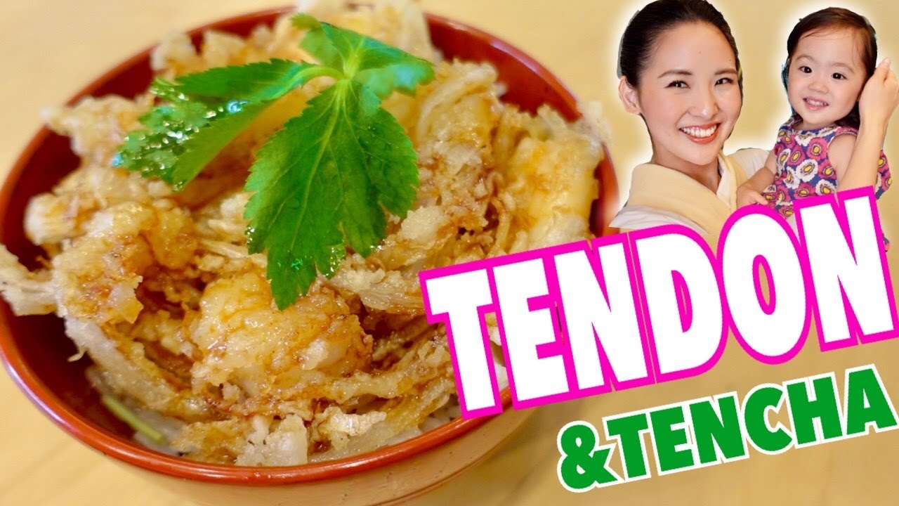 TENDON|Tempura Donburi Teriyaki sauce