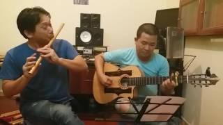 Người ơi người ở đừng về - hòa tấu guitar sáo trúc