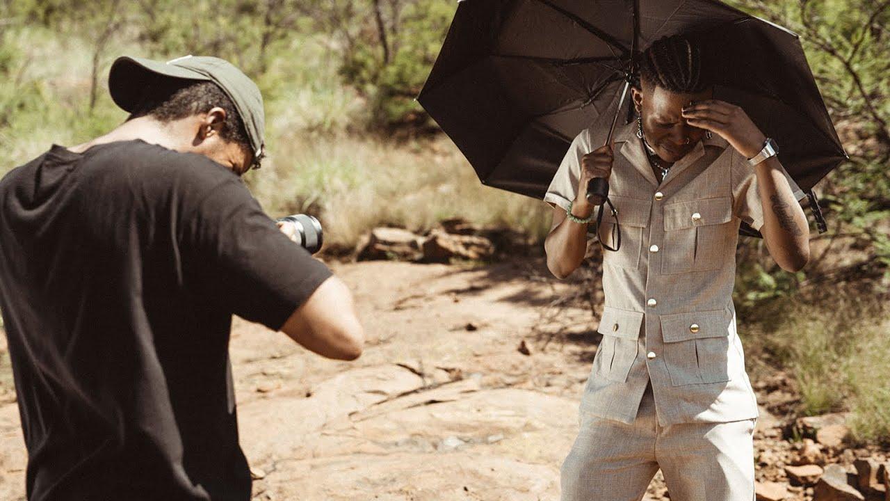 Download Aubrey Qwana - uKiss (Official Behind The Scenes)