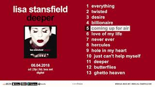 "Lisa Stansfield ""Deeper"" Official Pre-Listening - Album OUT NOW!"