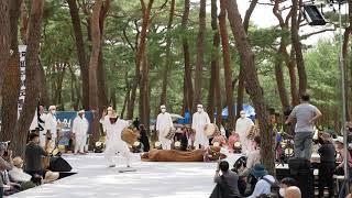 하회전통문화예술제 하회별신굿탈놀이 공연