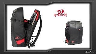 RedRagon GB-100 - Prezentacja pojemnego plecaka