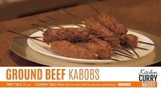 Ground Beef Kabobs