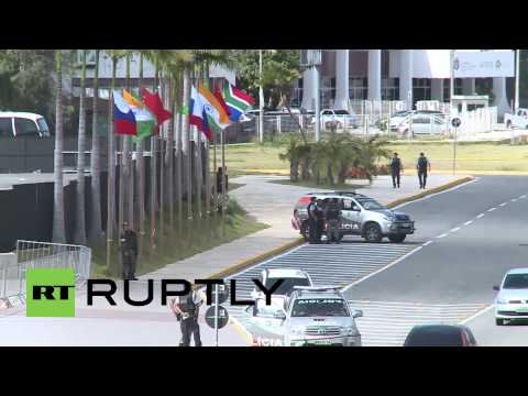 Brazil: Military cordon ensures no surprises at BRICS summit