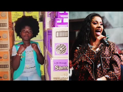 Maverick - 10 Year Old Covers Cardi B Song To Sell Girl Scout Cookies!
