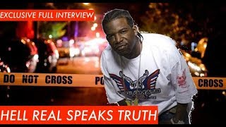 HELL RELL EXCLUSIVE INTERVIEW: Tells THE TRUTH About Getting Jumped in Restaurant RAW UNCUT