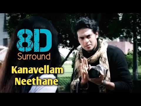 Kanavellam Neethane 8D   Dhilip Varman   Music Album   8D BeatZ
