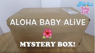 Baby Alive Mystery Box Opening! Enter Contest on Instagram to Win One of the Restored Baby Alive!